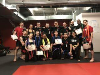January 2018 Special Event Recap ~* Jeet Kune Do Belt Test *~